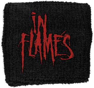 In Flames   Red Logo   Wristband