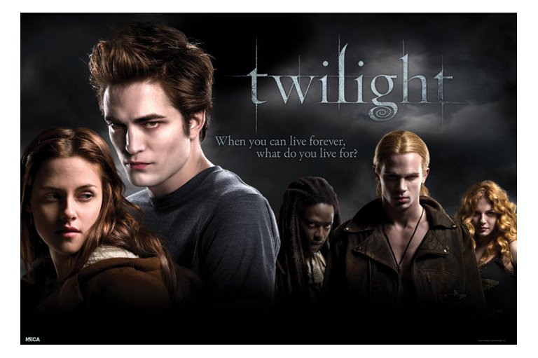Official Twilight Cast Poster: Buy Online on Offer