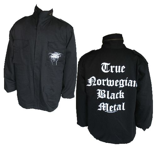 Darkthrone True Norwegian Black Metal Jacket