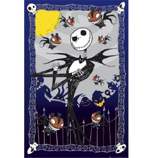 Nightmare Before Christmas   Glow   Poster