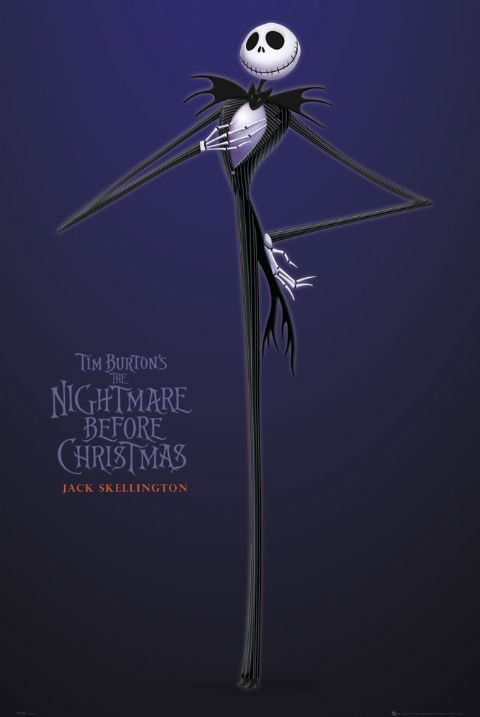 Nightmare Before Christmas   Jack   Poster