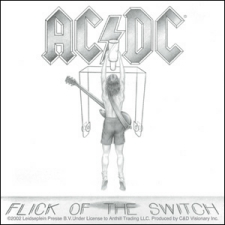 AC/DC Flick Of The Switch Sticker