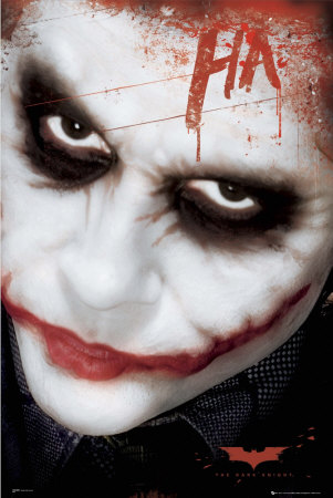 Batman   Joker Face   Poster