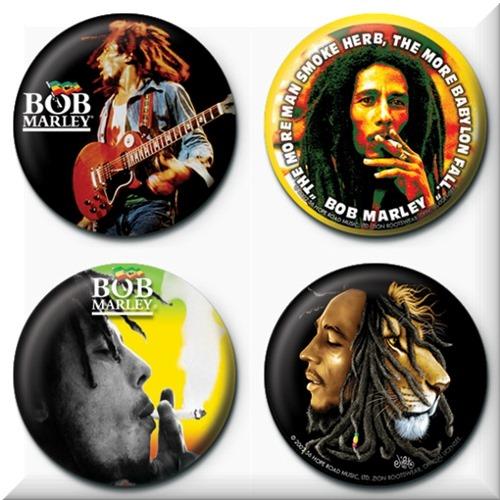 00e54b534c57ea Bob Marley 4 Badges Badgepack 2