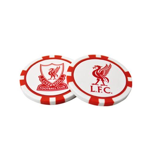 Liverpool F.C. Poker Chip Ball Markers