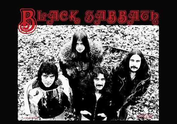 Black Sabbath Band Flag