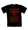 Van Halen T Shirt Whiskey. Emi Music officially licensed t-shirt.