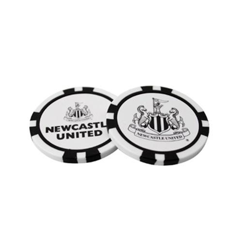 Newcastle United F.C. Poker Chip Ball Markers