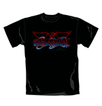 T Shirt Logo Aerosmith. Emi Music officially licensed t-shirt.