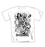 Alexisonfire T Shirt Fight. Emi Music officially licensed t-shirt.