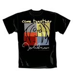 John Lennon T Shirt Come Together. Emi Music officially licensed t-shirt.