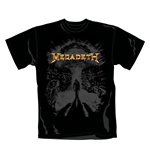Megadeth T Shirt Armageddon. Emi Music officially licensed t-shirt.