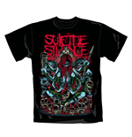 Suicide Silence T Shirt Tribal. Emi Music officially licensed t-shirt.