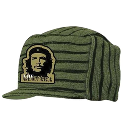 Official Che Guevara Knitted Military Beanie Hat  Buy Online on Offer 71f1bebd586f