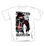 Silverstein T Shirt Redemption. Emi Music officially licensed t-shirt.