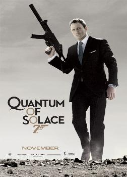 James Bond Quantum Of Solace (GUN) Poster