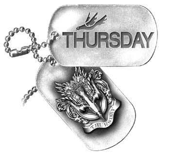 Thursday Logo Dogtags