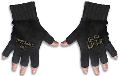 Six Feet Under Logo Gloves