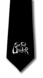 Six Feet Under Logo Tie