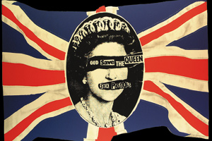 Sex Pistols God Save The Queen Magnets