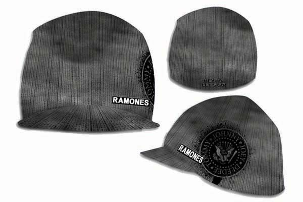 Official Ramones Overdyed Billed Beanie Hat Buy Online On