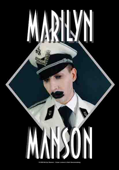 Marilyn Manson Officer Flag