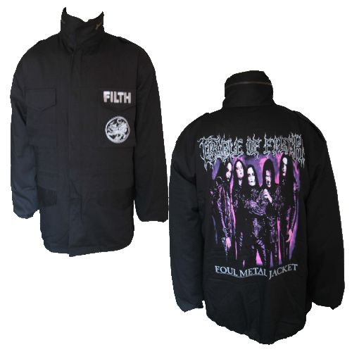 Cradle Of Filth Foul Metal Jacket Jacket