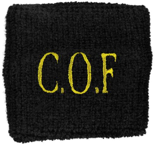 Cradle Of Filth Cof Logo Wristband