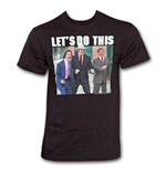 ANCHORMAN Let's Do This Shirt Black
