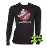 GHOSTBUSTERS Logo Thermal - Black