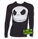 Nightmare Before Xmas Thermal Skull Black