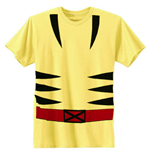 WOLVERINE Costume Shirt Yellow