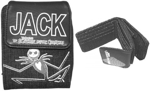Nightmare Before Christmas Jack Wallet