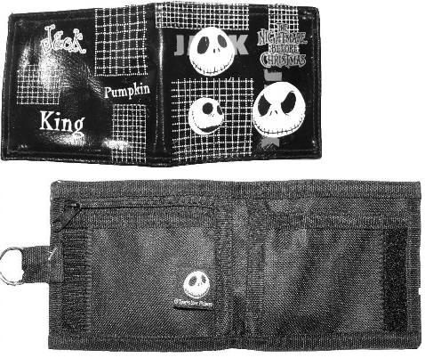 Nightmare Before Christmas Pumpkin Wallet