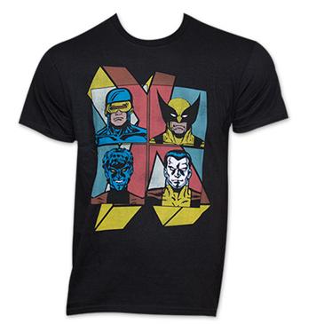 Marvel x men wolverine retro vintage style superhero for Retro superhero t shirts