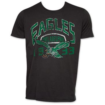 Junk food nfl football philadelphia eagles 1933 t shirt for Eagles football t shirts