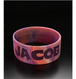 Twilight Breaking Dawn Rubber Bracelet Team Jacob