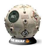 Star Wars Alarm Clock with Sound Jedi Training Remote