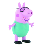 Peppa Pig Mini Figure Daddy Pig 6,5 cm