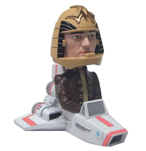 Battlestar Galactica Bobble-Head Viper with Apollo 14 cm