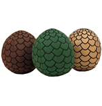 Game of Thrones Plush Dragon Eggs 18 cm Set (3)