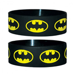 Batman Rubber Wristband Logo