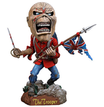 Iron Maiden Head Knocker Bobble-Head Eddie The Trooper 18 cm