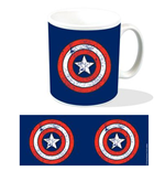 Marvel Mug Captain America Shield Logo