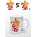 Harry Potter Mug Gryffindor Stencil