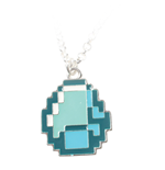 Minecraft Necklace Diamond