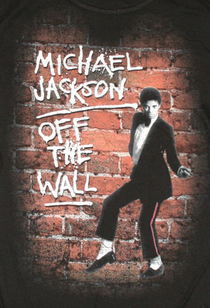 Official Michael Jackson Off The Wall T Shirt Buy Online