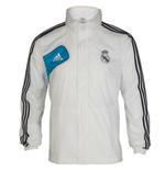 2012-13 Real Madrid Adidas Allweather Jacket (White)