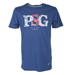 2012-13 PSG Nike Core T-Shirt (Navy)