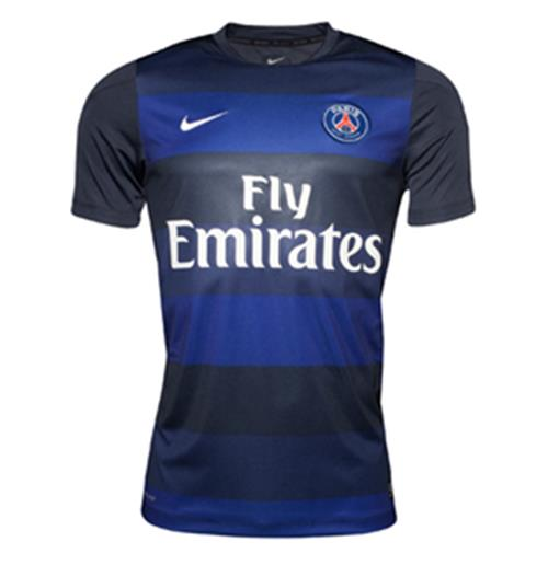 reputable site dc662 dd38b 2013-14 PSG Nike Pre-Match Jersey (Blue-Navy)